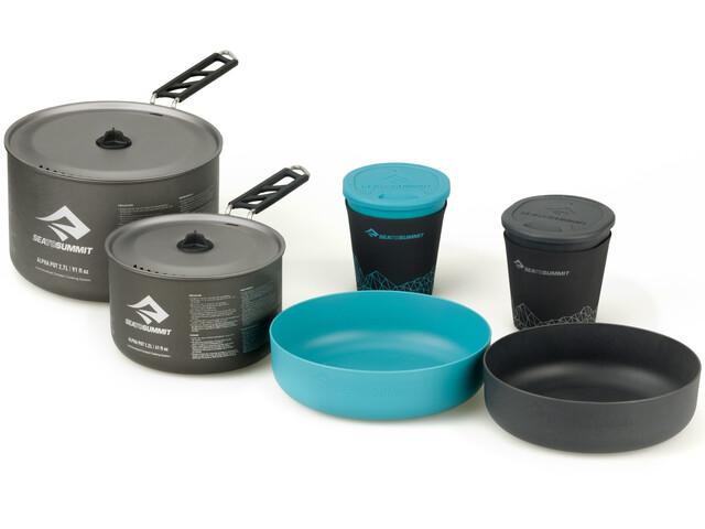 Sea to Summit Alpha 2 Pot Cook Set 2.2, grey